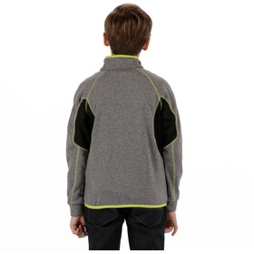 Regatta Limit II Jacket Kids Seal Grey Marl/Black
